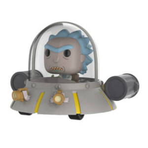 Rick and Morty Rick in Space Cruiser EXC Pop! Vinyl Ride Figure
