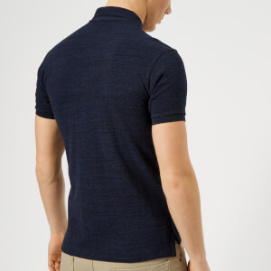 Polo Ralph Lauren Men's Slim Fit Short Sleeve Polo Shirt - Worth Navy Heather: Image 2