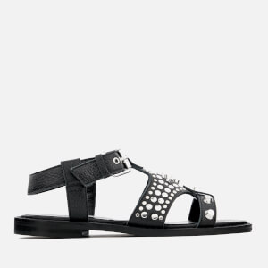 McQ Alexander McQueen Women's Moon Flat Sandals - Black