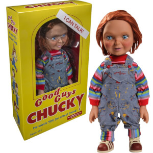 Mezco Chucky Talking Doll with Happy Face - 15 Inch