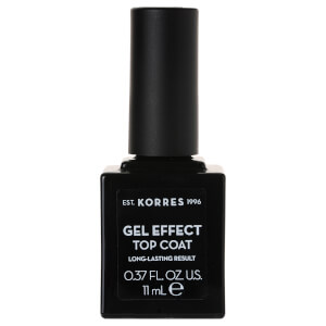 KORRES Gel-Effect Sweet Almond Top Coat 11ml