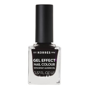 KORRES Natural Gel Effect Nail Colour - Smokey Plum 11ml