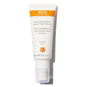 REN Wake Wonderful Night-Time Facial 40ml (Worth £34.00) (Free Gift)