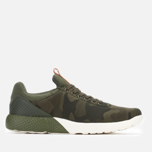 Crosshatch Men's Alesund Trainers - Forest Camo