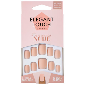 Elegant Touch Nude Nails - Organza