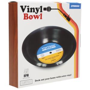 Retro Vinyl Bowl