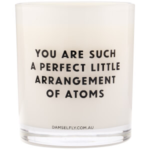 Damselfly Arrangement of Atoms Candle 450g