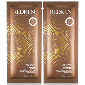 Redken All Soft Mega Sheet Mask Duo