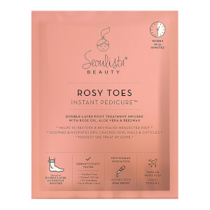 Pedicura Rosy Toes Instant Pedicure de Seoulista Beauty