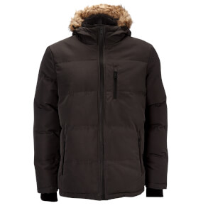 Brave Soul Men's Trailblazer Parka - Grey