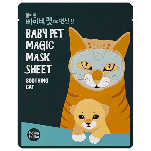 Holika Holika Baby Pet Magic Mask Sheet -kangasnaamio (Cat)