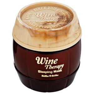 Ночная винная маска-желе с красным вином Holika Holika Wine Therapy Sleeping Mask (Red Wine)