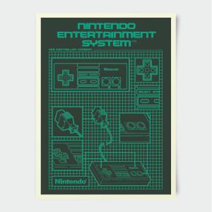 Nintendo Entertainment System Poster