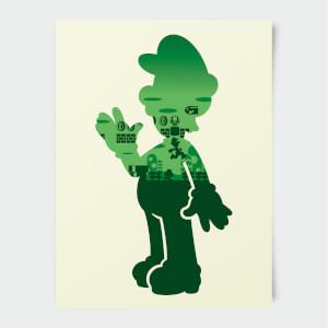 Nintendo Super Mario Luigi Print