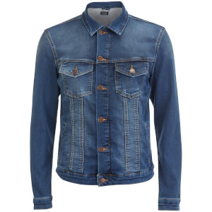 Jack & Jones Originals Men's Alvin Denim Jacket - Dark Wash