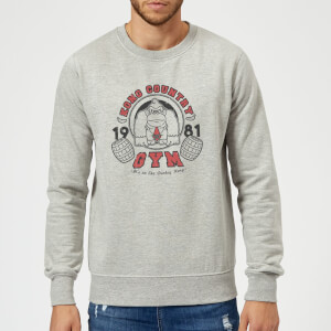 Nintendo Donkey Kong Gym Men's Sweatshirt - Grey