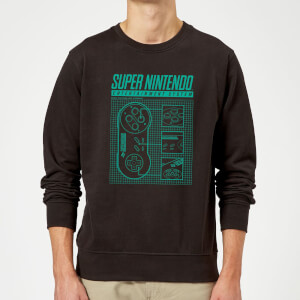 Sweat Homme Super Nintendo Entertainment System - Noir