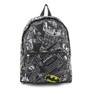 DC Comics Batman Logo Backpack - Black