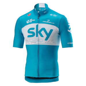 Team Sky Podio Jersey - Sky Blue