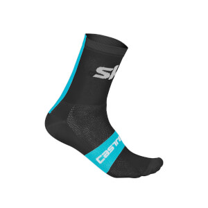 Team Sky Rosso Corsa 13 Socks - Black
