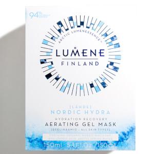 Кислородная увлажняющая и восстанавливающая маска Lumene Nordic Hydra [Lähde] Hydration Recovery Aerating Gel Mask 150 мл