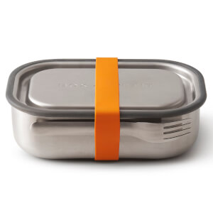 Black+Blum Stainless Steel Lunch Box - Orange