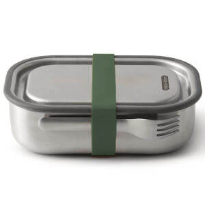 Black+Blum Stainless Steel Lunch Box - Olive