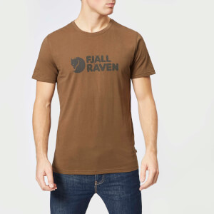Fjallraven Men's Logo Short Sleeve T-Shirt - Tarmac