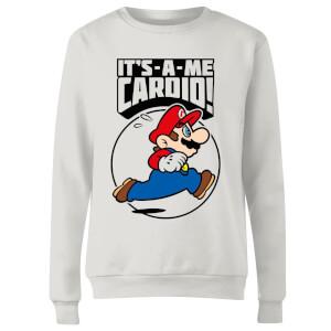 Nintendo Super Mario Cardio Women's Sweatshirt - White