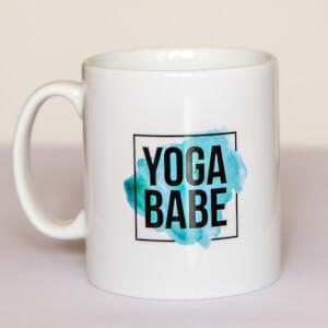 Healthy Madame Yoga Babe Tasse - Weiß