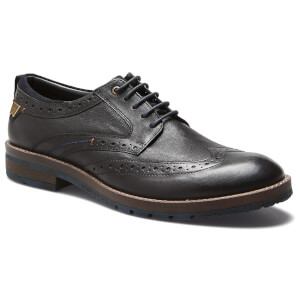 Comprar Wrangler Men's Boogie Leather Brogues - Black