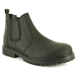 Wrangler Men's Yuma Leather Chelsea Boots - Black