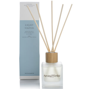AromaWorks Light Range Reed Diffuser - Spearmint and Lime