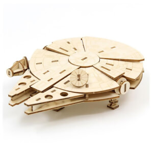 Incredibuilds Star Wars Millennium Falcon 3D Wooden Model Kit