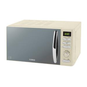 Tower T20419C Digital Microwave 800W - Cream