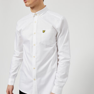 Lyle & Scott Men's Oxford Shirt - White