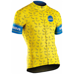Northwave Banana-Split Short Sleeve Jersey - Yellow