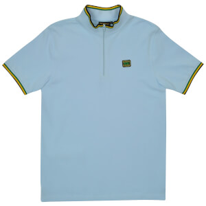 Reynolds 531 Tipped Collar Shirt - Light Blue