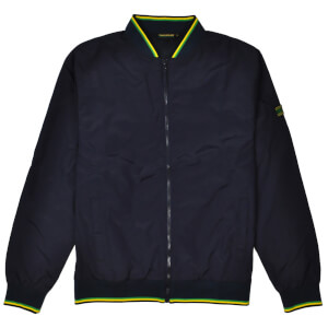 Reynolds 531 Tipped Collar Bomber Jacket - Black