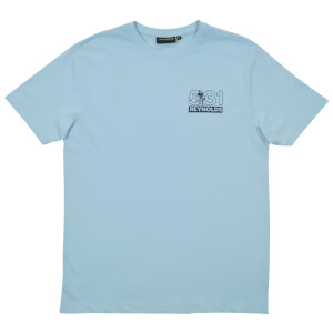Reynolds Travel Light Printed T-Shirt - Blue