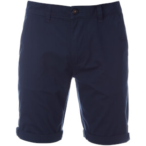 D-Struct Men's Miko Chino Shorts - Navy