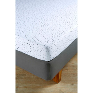 Christy Junior Speckles Jersey Fitted Sheet - Indigo