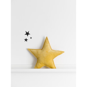Christy Star Cushion Turmeric.