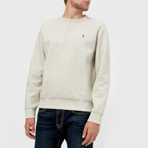 Polo Ralph Lauren Men's Double Knit Tech Sweatshirt - Light Sport Heather