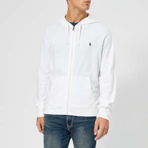 Polo Ralph Lauren Men's Terry Zipped Hoody - White