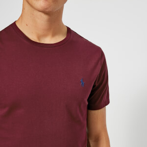 Polo Ralph Lauren Men's Custom Slim Fit T-Shirt - Classic Wine: Image 4