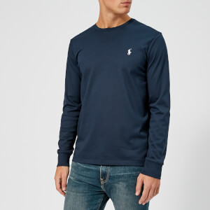 Polo Ralph Lauren Men's Pima Long Sleeve T-Shirt - French Navy