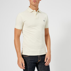 Polo Ralph Lauren Men's Slim Fit Mesh Polo Shirt - Chic Cream