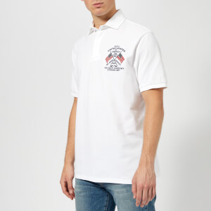 Polo Ralph Lauren Men's Short Sleeve Rugby Top - White