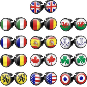 Velox Flag Bar End Plugs